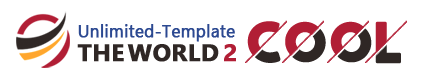 THE WORLD「Coolテンプレート」サンプル
