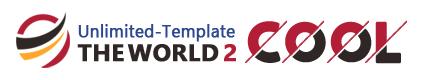 THE WORLD2.0「COOLテンプレート」サンプル